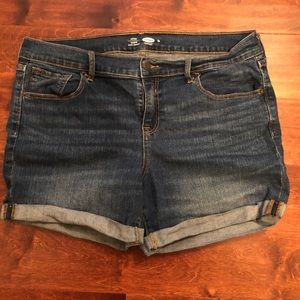 Old Navy Jean Shorts Size 14